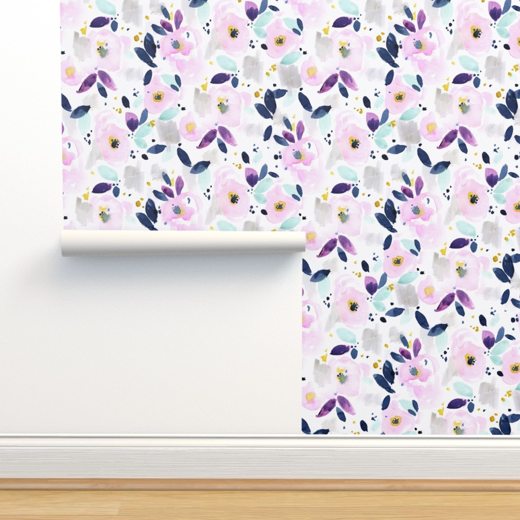 Isobar Durable Wallpaper featuring mystical floral by crystal_walen