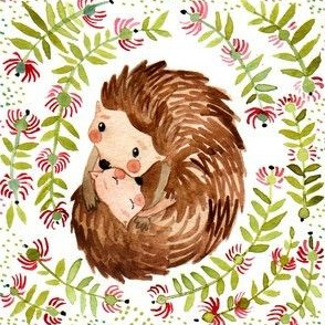 Hedgehog hug