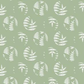Mint green fern