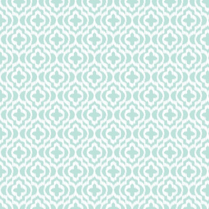 Light blue classic trellis