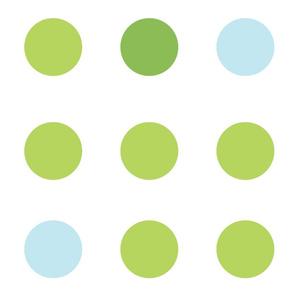 Spirited Dot Lime