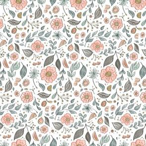 White Dainty Flowers