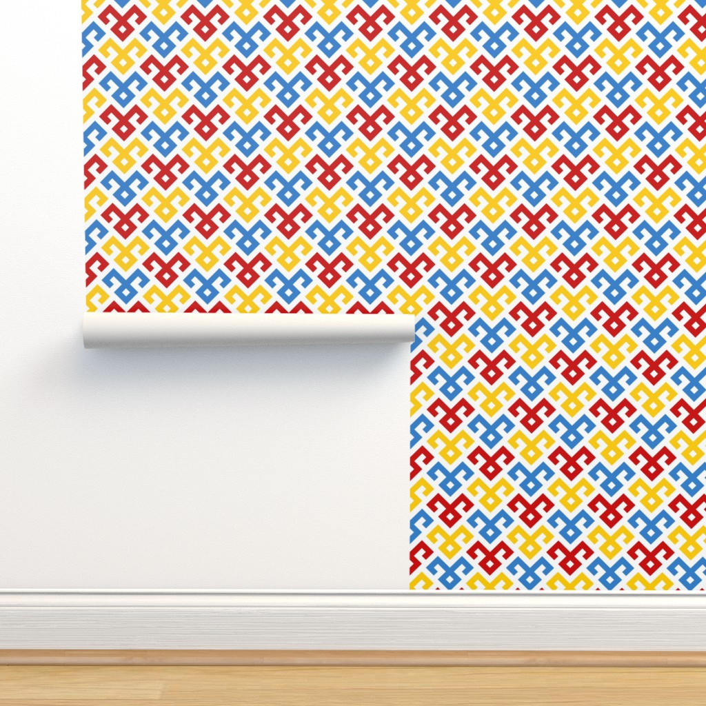 Isobar Durable Wallpaper featuring 07143510 : kilim fertility 1x 3 by sef