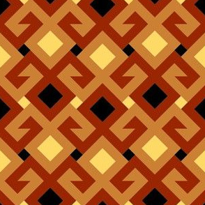 07143533 : kilim fertility 2j : terracotta