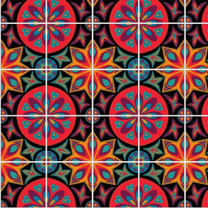 Intense Spanish Tiles
