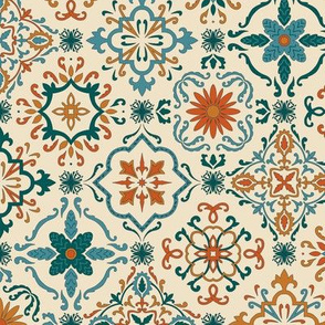 (Large)Spanish Tiles