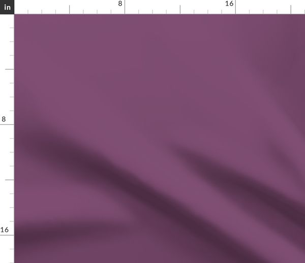 Fabric By The Yard Precious Pea Feathers Plum Purple Solid Color