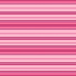Pretty Pink Stripes