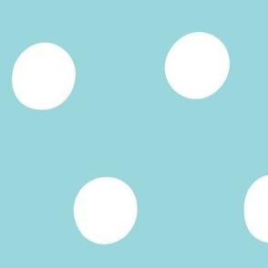 #9AD7DC fruity fun dots huge