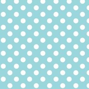 #9AD7DC polka dots 2