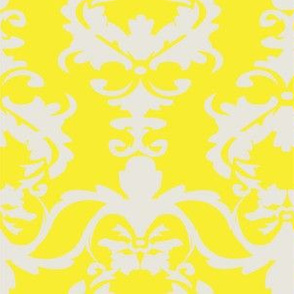 PATIO DAMASK yellow