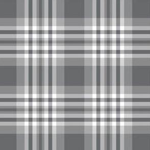 Grey Gray Plaid Gingham Check