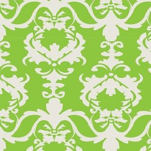 PATIO DAMASK green