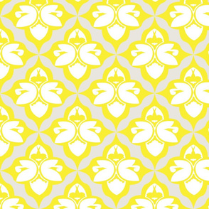 GARDEN DAMASK yellow