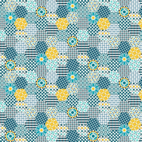 Spanish Tiles of the Alhambra