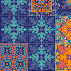 7148712-spanish-tile-patchwork-by-hootenannit