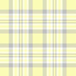 Yellow Gray Grey Plaid Gingham