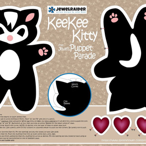 KeeKee MINKY ©Julee Wood - PLEASE CHOOSE MINKY OR THE DESIGN WILL NOT PRINT CORRECTLY
