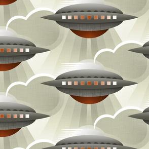 Art Deco Spaceship Tobacco