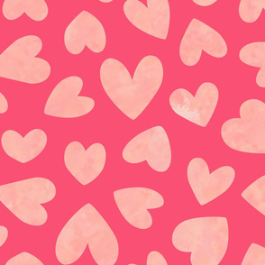 Love Hearts Pink