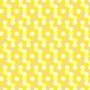 Honeycomb - Yellow