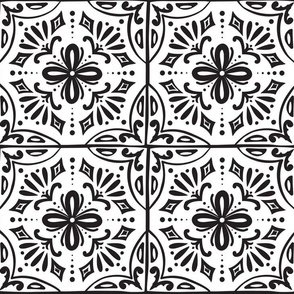 Sevilla - Spanish Tiles Coloring Book Style