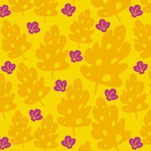 yellow seaweed