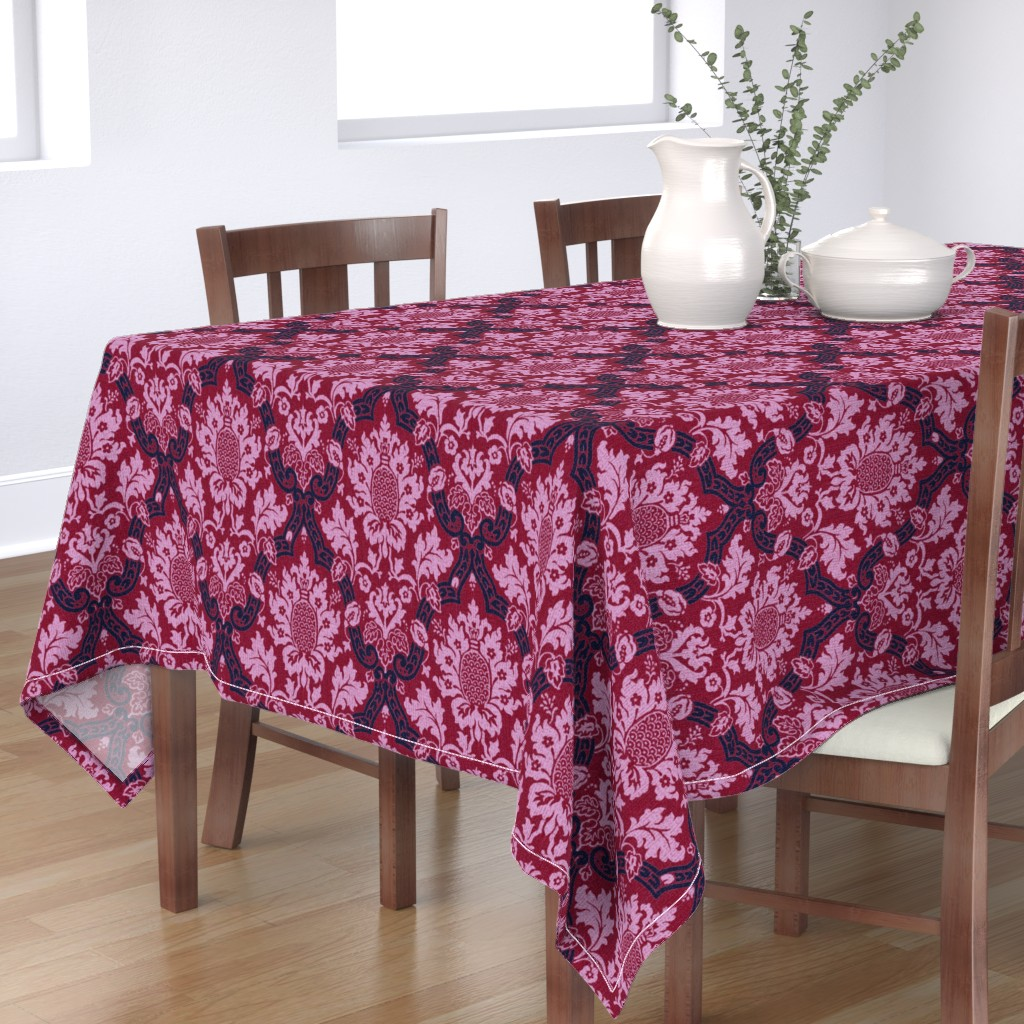 Bantam Rectangular Tablecloth featuring Exmoor Rusicana 1l by muhlenkott