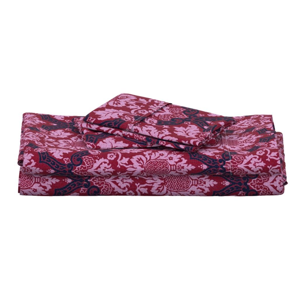 Langshan Full Bed Set featuring Exmoor Rusicana 1l by muhlenkott