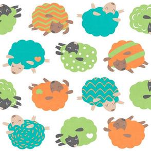 Sleepy Sheep Jungle