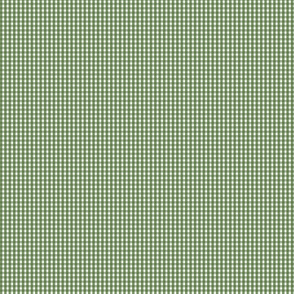 "gingham 1/16"" hunter green"