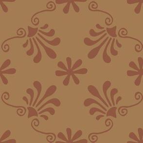 Greek Tile -Sienna