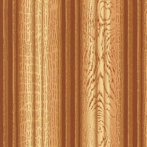 Faux Bois Bead Board ~ Gilded Age