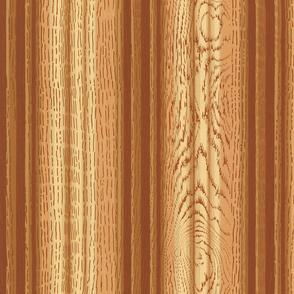 Faux Bois Bead Board ~ Gilded Age