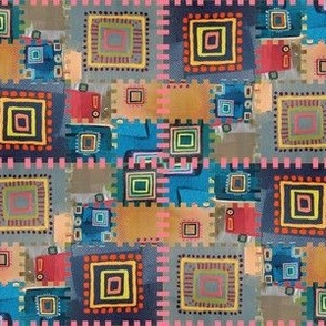 Modern Kilim Interpretation large