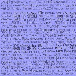 OB Nurse Terms and Abbreviations