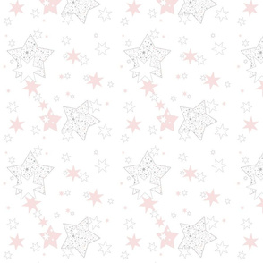 January Stars Blush Constellation