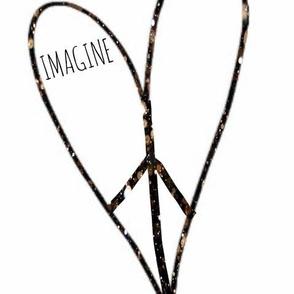 Imagine peace & love