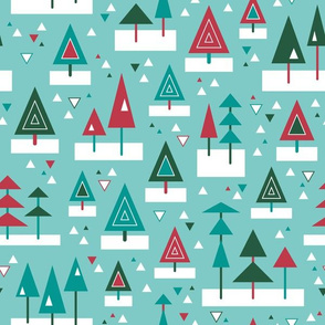 Mod Christmas Trees (Festive)