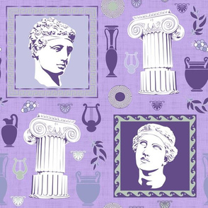 Ancient Greece Composition (Purple)