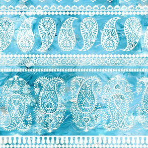 Bodhi Paisley Turquoise