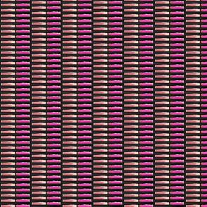 Pink Black Columns