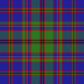 "MacIntyre or Glenorchy tartan, 6"" blue"