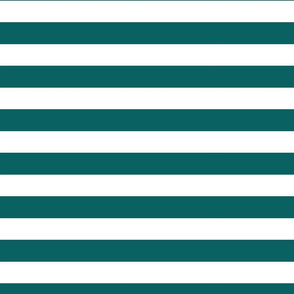 Teal and white stripe