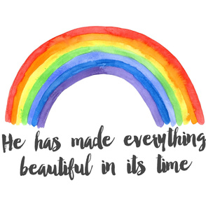 he has made everything beautiful