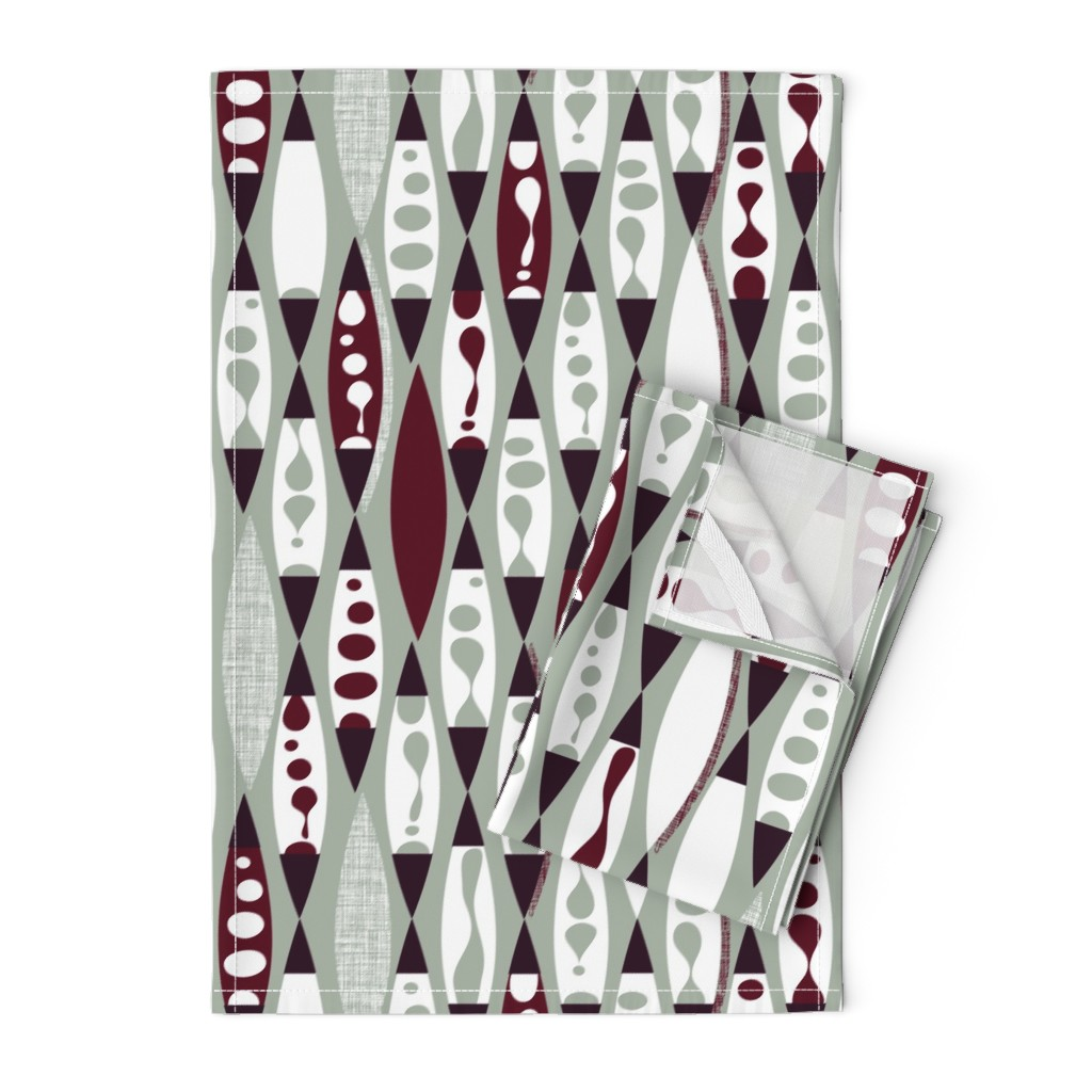 Orpington Tea Towels featuring Lamplight by spellstone