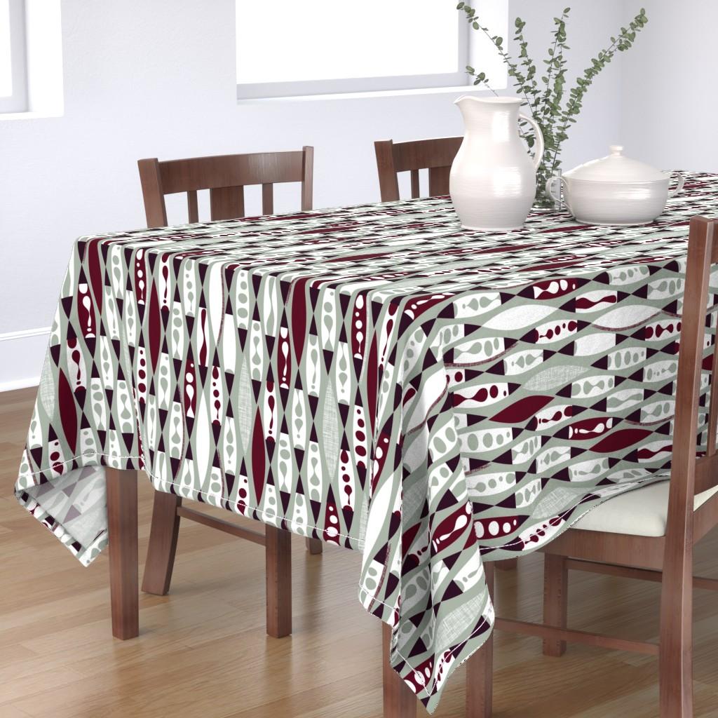 Bantam Rectangular Tablecloth featuring Lamplight by spellstone