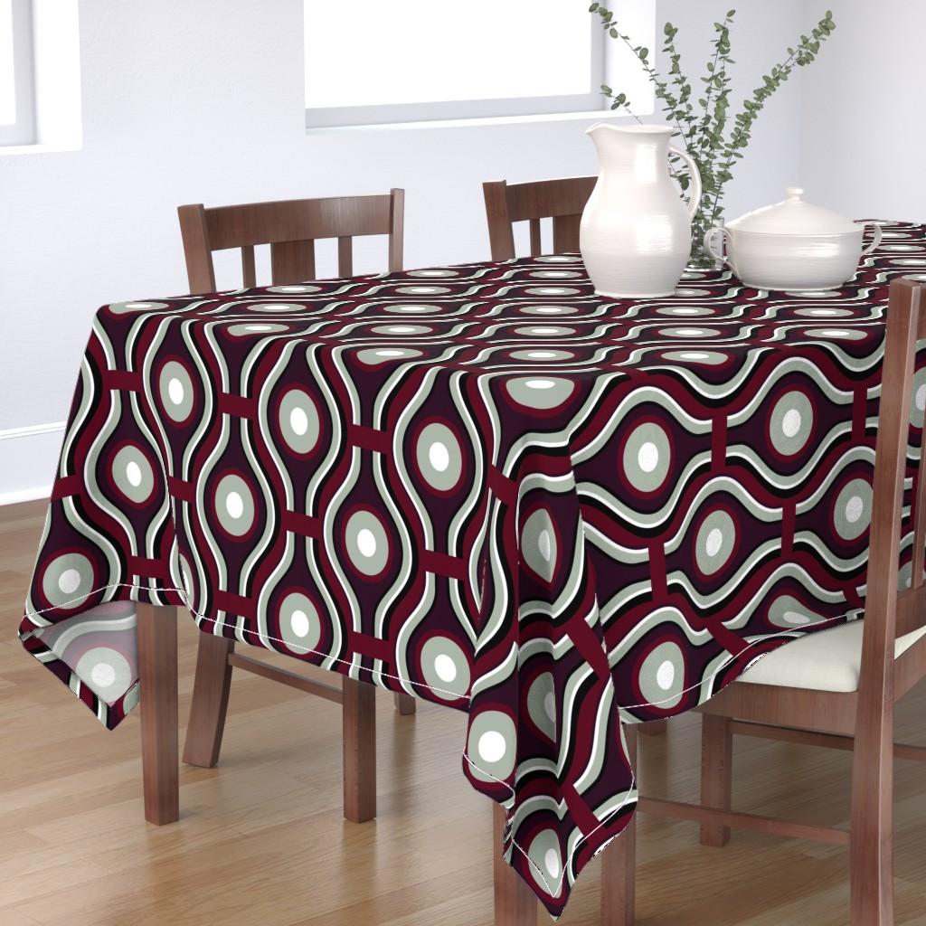 Bantam Rectangular Tablecloth featuring Lanternlight by spellstone