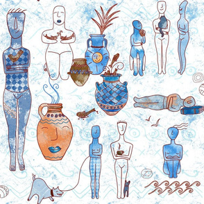 cycladic life in ancient Greece
