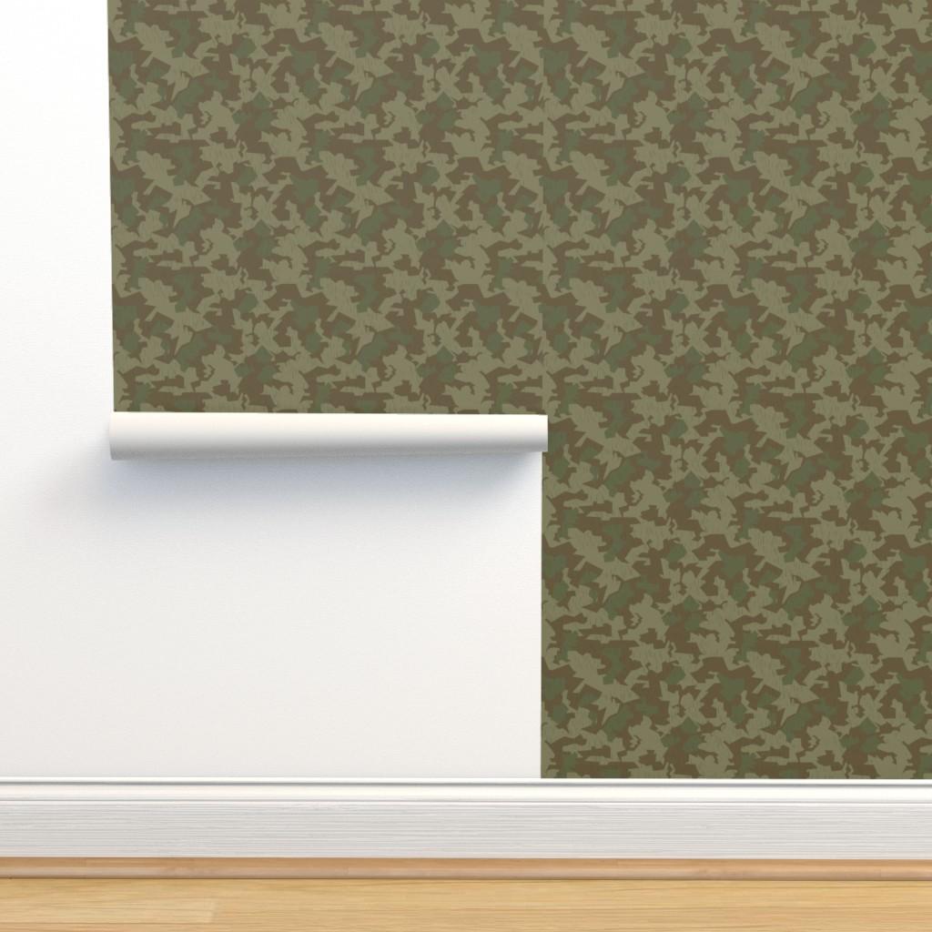 Isobar Durable Wallpaper featuring Luftwaffe Splinter B Camo Faded by ricraynor